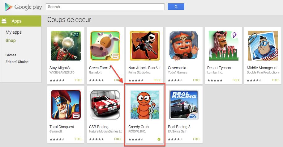 Greedy Grub available on Google Play | Pixowl – Mobile Games Studio