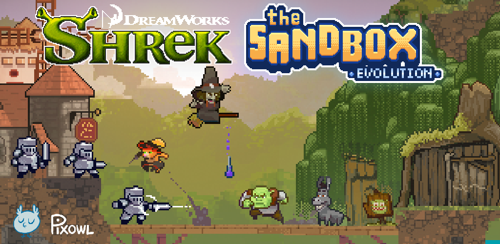 SHREK™ COMES TO THE SANDBOX EVOLUTION | Pixowl – Mobile